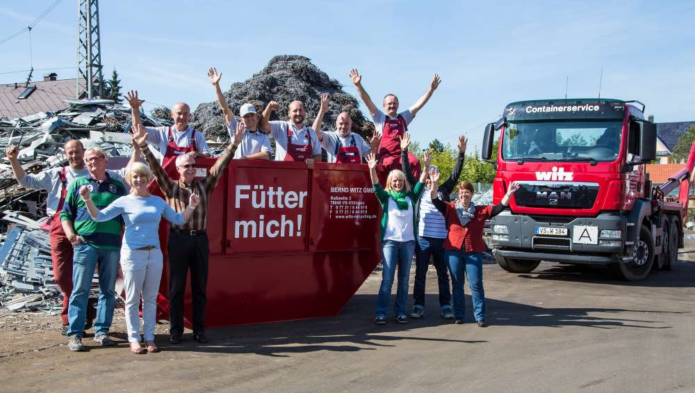Unser Kunde Bernd Witz GmbH.