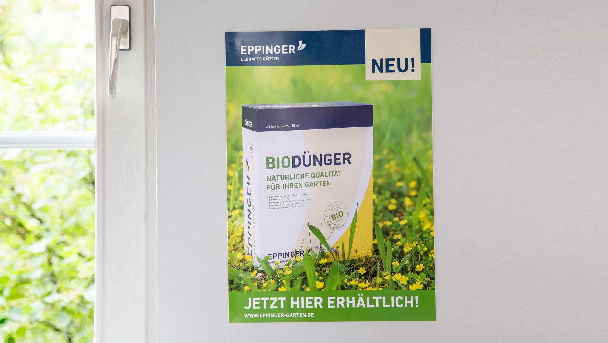 Plakat Eppinger Bio von brand49